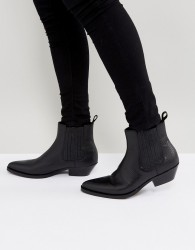ALDO Etigovia Leather Chelsea Boots In Black - Black