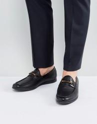 ALDO Frelacia Leather Loafers In Black - Black