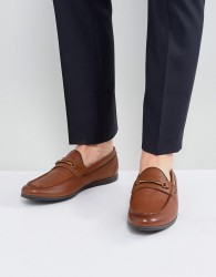 ALDO Frelacia Leather Loafers In Tan - Tan