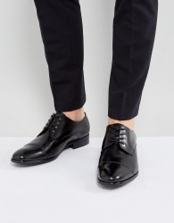 ALDO Galerrange Derby Leather Shoes In Black - Black