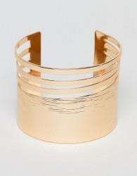 ALDO Gold Statement Cuff Bracelet - Gold