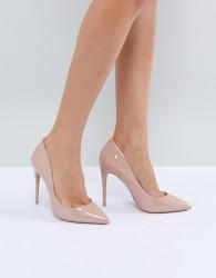 ALDO Heeled Court Shoe - Beige