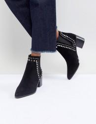 ALDO Kiralia Studded Leather Ankle Boot - Black