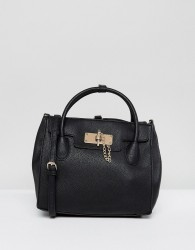 ALDO Minimal Backpack with Top Handle - Black