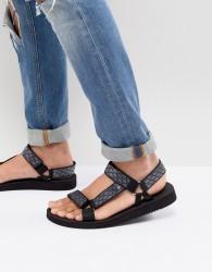 ALDO Moesen tech sandals in black - Black