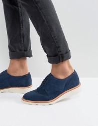 ALDO Muggli Suede Derby Shoes - Navy