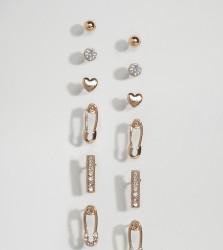 ALDO Multipack Stud Earrings - Gold