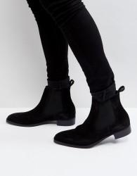 ALDO Oneillan Suede Chelsea Boots In Black - Black