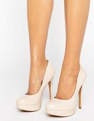 ALDO Platform Shoes - Stone