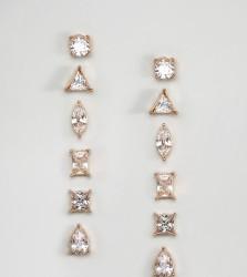 ALDO Praucien Multipack Earrings - Gold