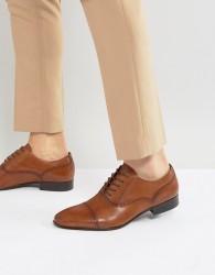 ALDO Saylian Oxford Toe Cap Shoes - Tan