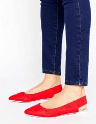 ALDO Slingback Point Shoes - Red
