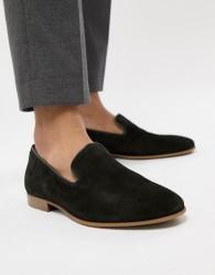 ALDO Tralisien slipper loafers in black - Black