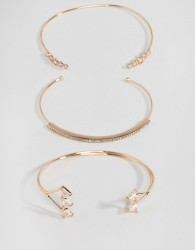 ALDO Vanhese Stacking Bracelets - Gold