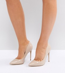 ALDO Wide Fit Beige Pointed Court Shoes - Beige