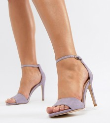 ALDO Wide Fit Fiolla Barely There Sandal - Purple