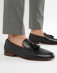 ALDO Wyanet tassel loafers in black - Black