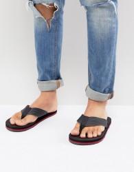 ALDO Ybalia Flip Flops In Stripe Black - Black