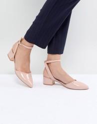 ALDO Zewiel Low Heel Pointed Shoes - Beige
