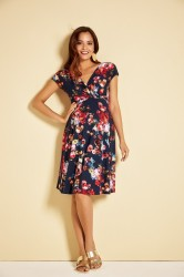 Alessandra kjole til gravid fra Tiffany Rose