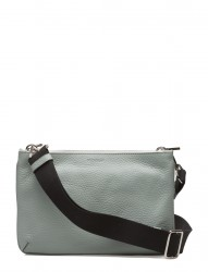 Alexa Double Bag W. Canvas Strap