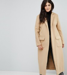 Alice & You Relaxed Cocoon Coat - Brown