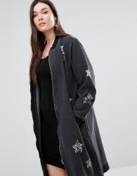 Alice & You Star Embellished jacket - Black