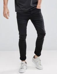 AllSaints Bixby Cigarette Skinny Jeans - Black