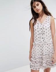 AllSaints Deirdre Ruffle Dress - Pink