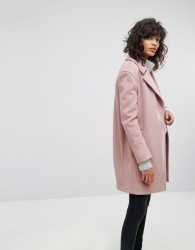 AllSaints Remi Oversized Coat - Pink