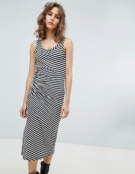 AllSaints stripe jersey dress - Multi