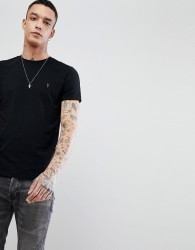 AllSaints T-Shirt In Black With Logo - Black