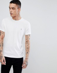 AllSaints T-Shirt In White With Logo - White