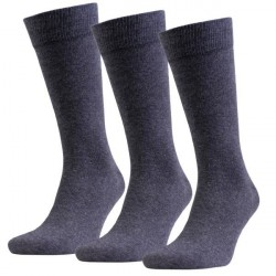 Amanda Christensen 3-pak True Combed Cotton Sock - Anthracite * Kampagne *