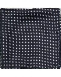 Amanda Christensen Handkerchief Dot Silk Navy men One size Blå