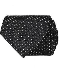Amanda Christensen Micro Dot Classic Tie 8 cm Black/White men One size Sort