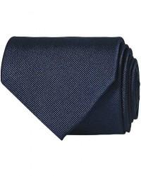 Amanda Christensen Plain Classic Tie 8 cm Navy men One size Blå