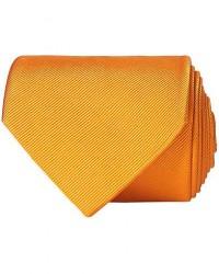Amanda Christensen Plain Classic Tie 8 cm Orange men One size Orange
