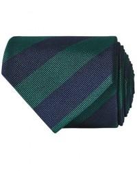 Amanda Christensen Regemental Stripe Classic Tie 8 cm Green/Navy men One size Grøn,Blå