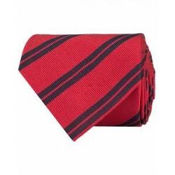 Amanda Christensen Stripe Classic Tie 8 cm Red/Navy