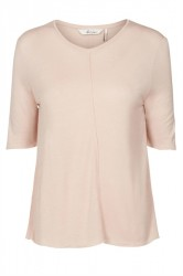 And Less - Bluse - Alexandrine Blouse - Rose Dust