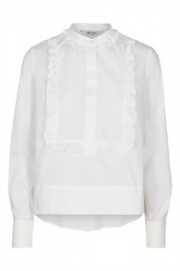 And Less - Bluse - Andino Blouse - White