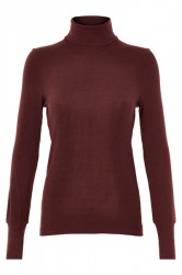 And Less - Bluse - Daniela Jersey Blouse - Winetasting