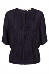 And Less - Bluse - Elsie Blouse - Deep Well