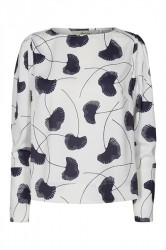 And Less - Bluse - Nessa Blouse - Print