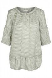 And Less - Bluse - Rosebay Blouse - Agave Green