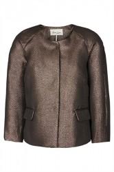 And Less - Jakke - Troyes Gold Jacket - Gold