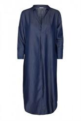 And Less - Kjole - Caja Dress - Deep Well