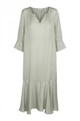And Less - Kjole - Starwort Dress - Agave Green