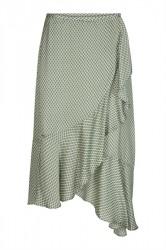 And Less - Nederdel - Lucerne Skirt - Agave Green